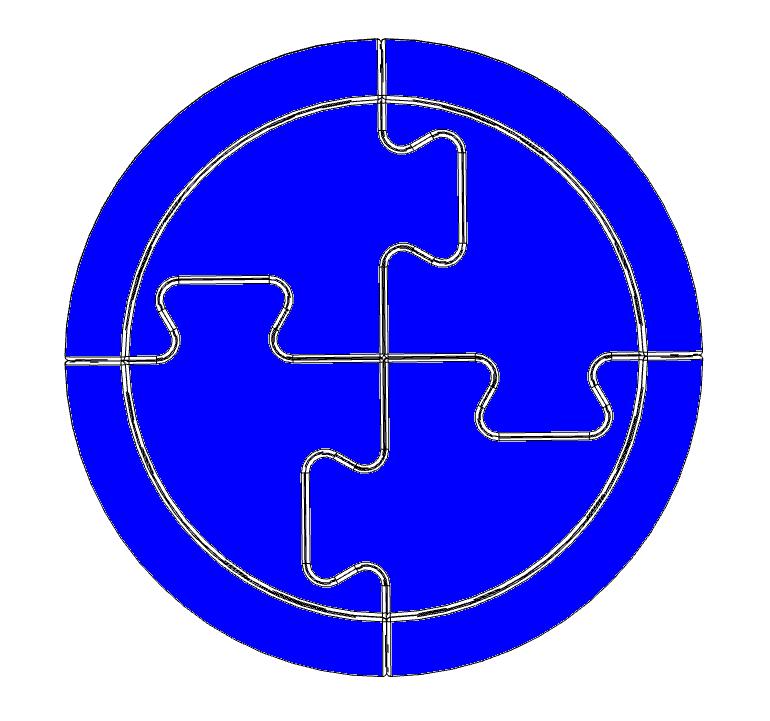 Block - blue