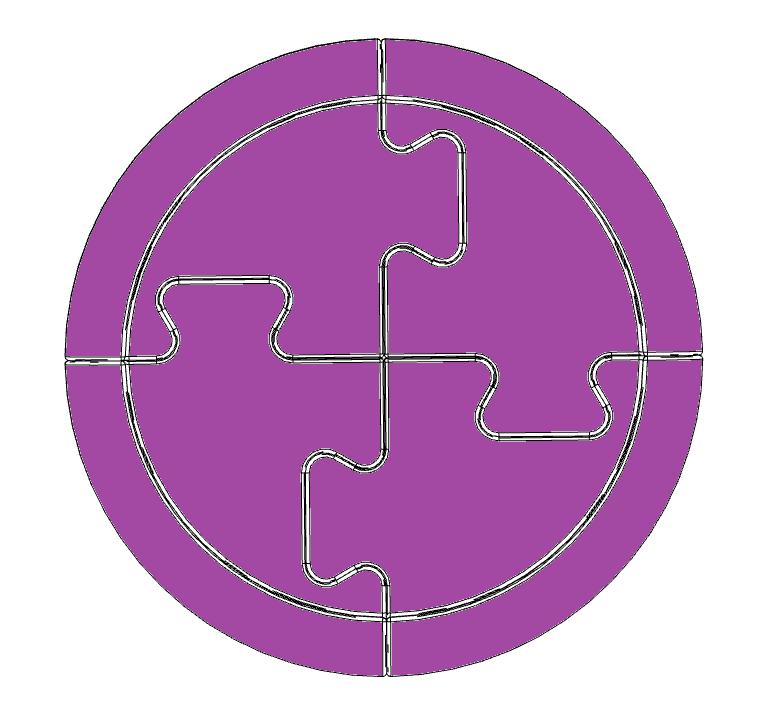 Leader - purple