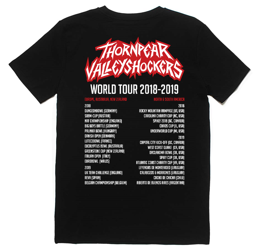 TPVS Tour-T-Shirt back